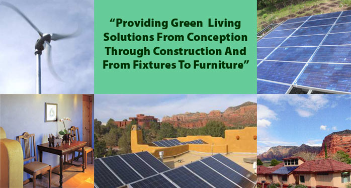 Providing Green Living Solutions From Concept Through Construction And From Fixtures To Furniture