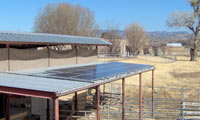 3.6kWh system in Camp Verde, Arizona.