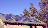4.3kWh system in Flagstaff, Arizona.