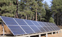 4.0kWh system in Flagstaff, Arizona.