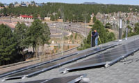 7.2kWh system in Flagstaff, Arizona.