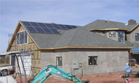 2.6kWh system in Snowflake, Arizona.