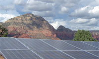 3.0kWh system in Sedona, Arizona.