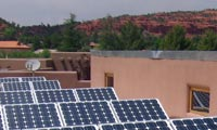3.6kWh system in Sedona, Arizona.