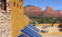 5.1kWh system in Sedona, Arizona.